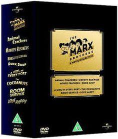 Marx Brothers Box Set. Fun Times!