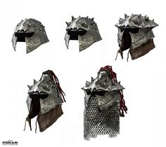 Orcish Helmets