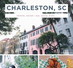 Charleston has been on our weekend getaway list for a while now - having lived in the Carolinas, the South will always have a place in my he...