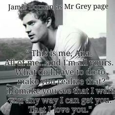Jamie Dornan...loving it.