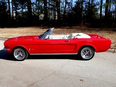 65' Mustang Convertible Coupe. My first car. :)