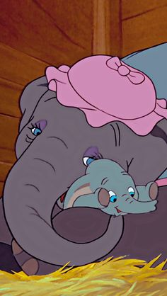 Jumbo & Dumbo - Everything Disney - Disney Pixar, Disney Frozen, Disney Cartoon Characters, Disney Nerd, Arte Disney, Disney Cartoons, Disney Animation, Disney Love, Disney Magic