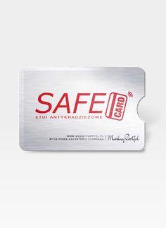 Etui Antykradzieżowe Dla Kart Kredytowych safecase safecase Personal Care, Self Care, Personal Hygiene