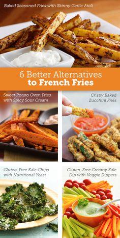 6 French Fry Alternatives