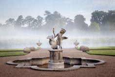 Cherub in the garden of Shugborough Estate, Staffordshire. Photo: ©National Trust Images/Andrew Butler