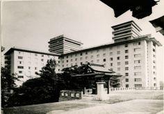 Former Tokyo Hilton Hotel in Nagata-cho