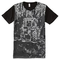 Shop drawing tractor and nature All-Over-Print T-Shirt created by ZierNorShirt. Personalize it with photos & text or purchase as is! Black White Art, Black And White Drawing, Types Of T Shirts, Stylish Shirts, Harajuku Fashion, S Shirt, Designs To Draw, Printed Shirts, Tractors