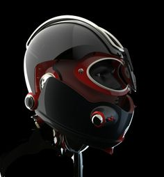 Thomas Thorne Racing Helmet by Simon Williamson at Coroflot.com