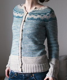 Ravelry: Trin-Annelie's angree sheep cardigan