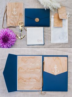 nautical invitation suite #weddinginvitations @weddingchicks