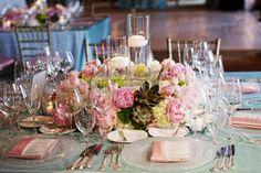 25 Stunning Wedding Centerpieces - Part 5 | bellethemagazine.com-tovaglilo/menu