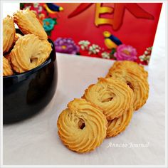 Danish Butter Cookies 丹麦牛油曲奇 | Anncoo Journal - Come for Quick and Easy Recipes