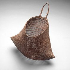 Unknown ARTIST, Jawun (Bicornual basket] at National Gallery of Australia/Aboriginal & Torres Islander Art 19th Century Objects