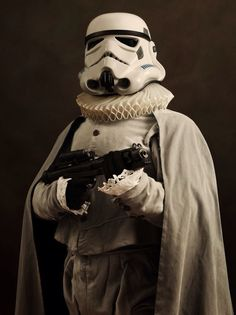 Photographer Sasha Goldberger: back to the Renaissance STORM TROOPER