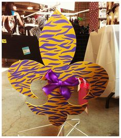 Geaux tigers, for front door during football season