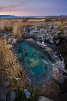 Oregon & Washington Hot Springs - one of the many places I want to take Hubby and the kids!