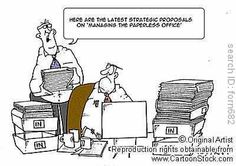 Paperless office?