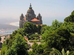 Viana do Castelo has perhaps the most beautiful basilica in Portugal, the basilica of Santa Luzia.