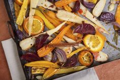 Roasting vegetables on the stovetop...
