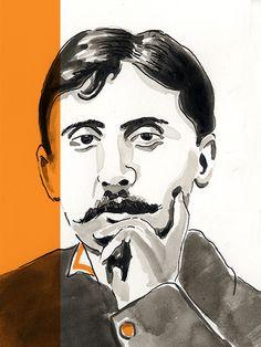 Marcel Proust sur la Bibliothèque Numérique #TV5MONDE