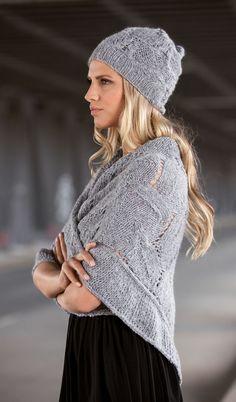 Lana Grossa DREIECKSTUCH Arioso/Lace Paillettes - FILATI Handstrick No. 61 - Modell 28 | FILATI.cc WebShop