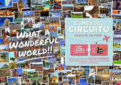 Tienes pensado hacer un circuito o combinado? Que no se te escape¡¡¡¡¡¡ Reserva en www.formigatours.es , www.formigatours.com