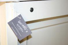 Heb mijn werkstukken inmiddels voorzien van kaartje GerARD's Remake.