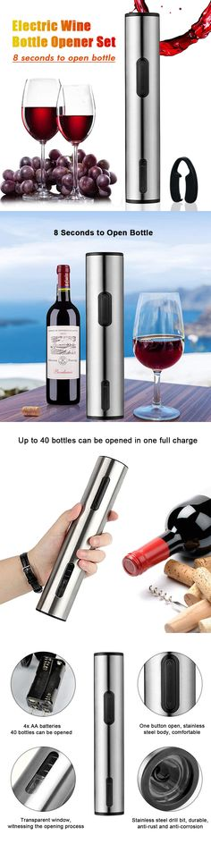 Automatic Wine Opener Replacement Box Pack Cork Pops Refill Cartridge 2 Refills Kitchen, Dining & Bar