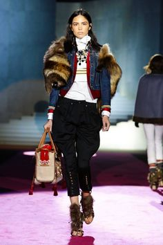 Runway *Looks* to love!- Dsquared2 Fall/Winter 2015