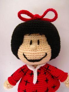 Amigurumi Mafalda inspired doll Amigurumi pattern