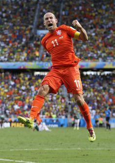 Arjen Robben Nederland Mexico 2-1