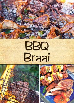 The definition of lekker! Braai Recipes, Yummy Food, Yummy Recipes, Recipies, Party Dishes, South African Recipes, Soul Food, Side Dishes, Bbq