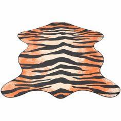 Geef uw interieur een 'wild' tintje met ons vloerkleed met dierenprint. Met zijn levensechte tijger print zal het een echte blikvanger zijn in iedere kamer. Hij is gemaakt van materiaal van hoogwaardige kwaliteit, is zacht, comfortabel en makkelijk in het onderhoud. Gebruik de stofzuiger voor stof en kruimels wanneer dat nodig is. Het kleed kan ook gewassen worden in de wasmachine. De onderkant van het vloerkleed is gemaakt van een anti-slip materiaal om ervoor te zorgen dat het kleed op…