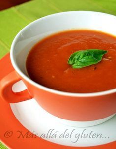 Más allá del gluten...: Crema de Tomate y Zanahoria (Receta SCD, GFCFSF, Vegana, Gerson)
