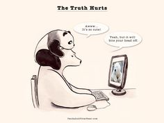 » The Truth Hurts Panda and Polar Bear