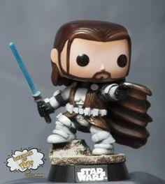 Custom Funko Pop - Clone Wars Obi-Wan Kenobi