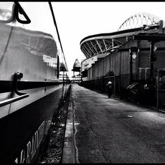 Train Station - Seattle (Century Link Stadium & Safeco Field in the background)