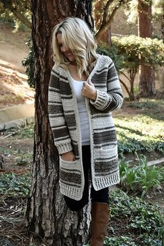 Coventry Cardigan crochet sweater pattern by Whistle and Wool, for purchase Crochet Coat, Crochet Cardigan Pattern, Crochet Clothes, Chunky Cardigan, Knit Cardigan, Knitting Patterns, Crochet Patterns, Vogue Patterns, Free Knitting