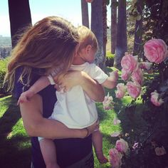Me, Frankie and the flowers. #happymothersday