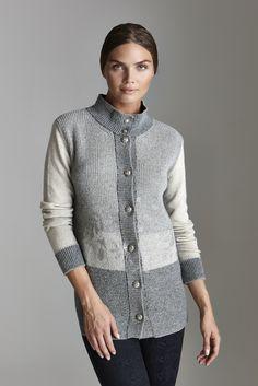 Un cardigan in lana, morbido e avvolgente, per un tenero abbraccio   http://blog.carlaferroni.it/?p=3040