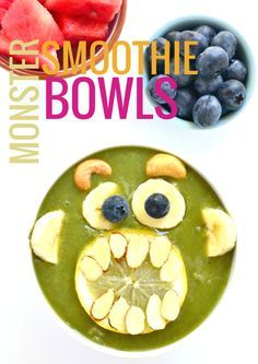 Monster Smoothie Bow     Monster Smoothie Bowls  https://www.pinterest.com/pin/11188699051094681/   Also check out: http://kombuchaguru.com
