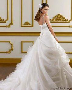 Prenses Gelinlik Modeli 2013
