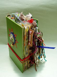 awesome altered book.