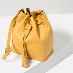 TASSELED BUCKET BAG-View all-BAGS-WOMAN | ZARA United States