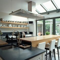 Small glazed extension made a world of difference