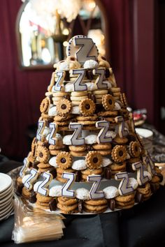 "Cookie wedding ""cake"" by Michael's Cookie Jar Image by LoveLee Photography"