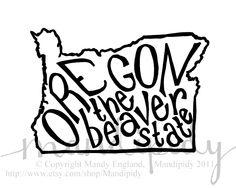 The Beaver State (Oregon)