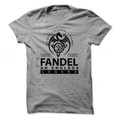awesome FANDEL Name Tshirt - TEAM FANDEL LIFETIME MEMBER