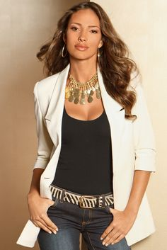 A Must-Have Blazer! Can be worn for casual or professional.
