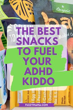 If you are wondering what to put in your kids lunches or serve on the go, these packaged snacks for ADHD kids are about the best around. Gluten free, dairy free, corn and soy free, too, these will give them the nutritional boost they need for better working brains. Adhd Diagnosis, Best Breakfast, Breakfast Meals, Adhd Diet, Healthy School Lunches, Acquired Taste, Adhd And Autism, Sweet Potato Chips, Salty Snacks